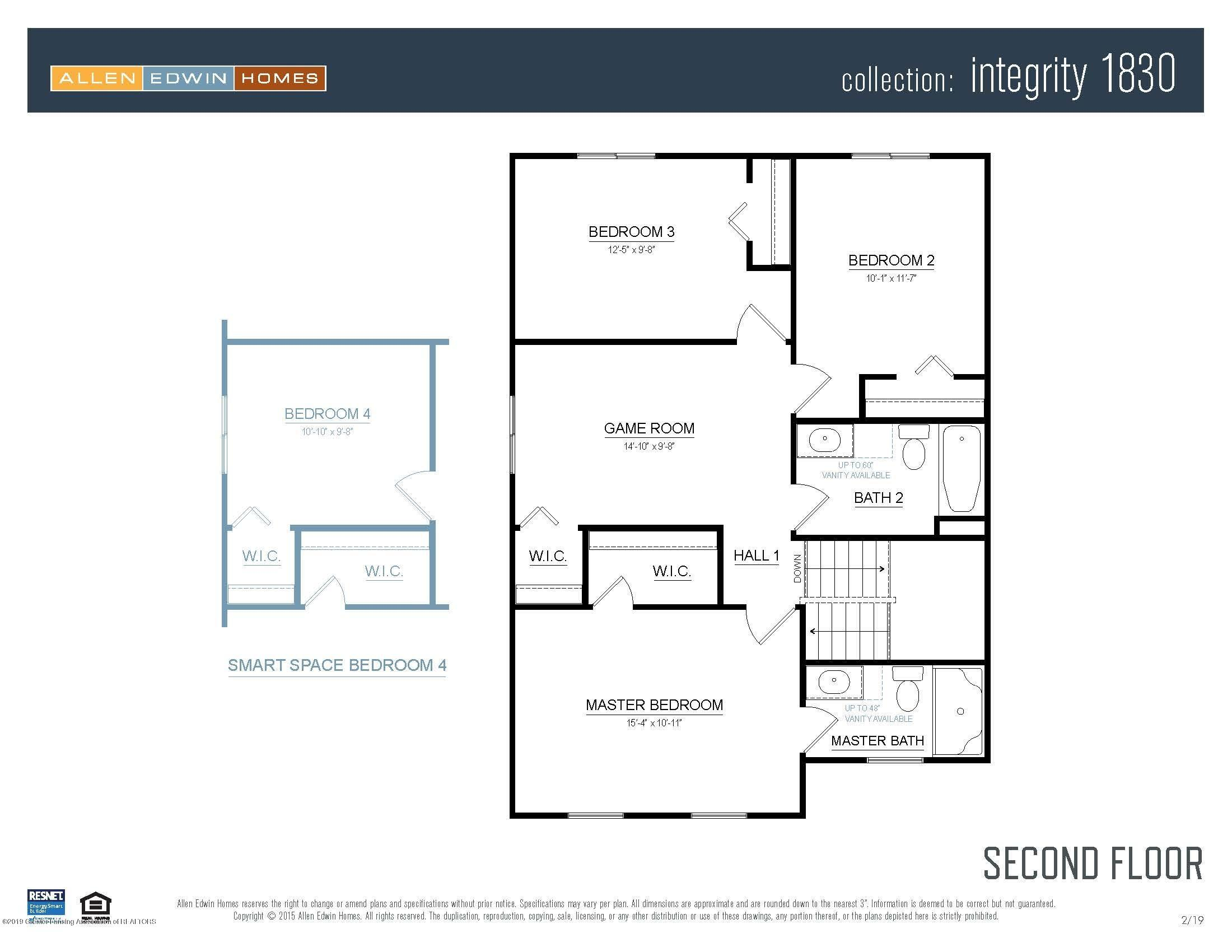 1125 River Oaks Dr - Integrity 1830 V8.1a Second Floor - 19