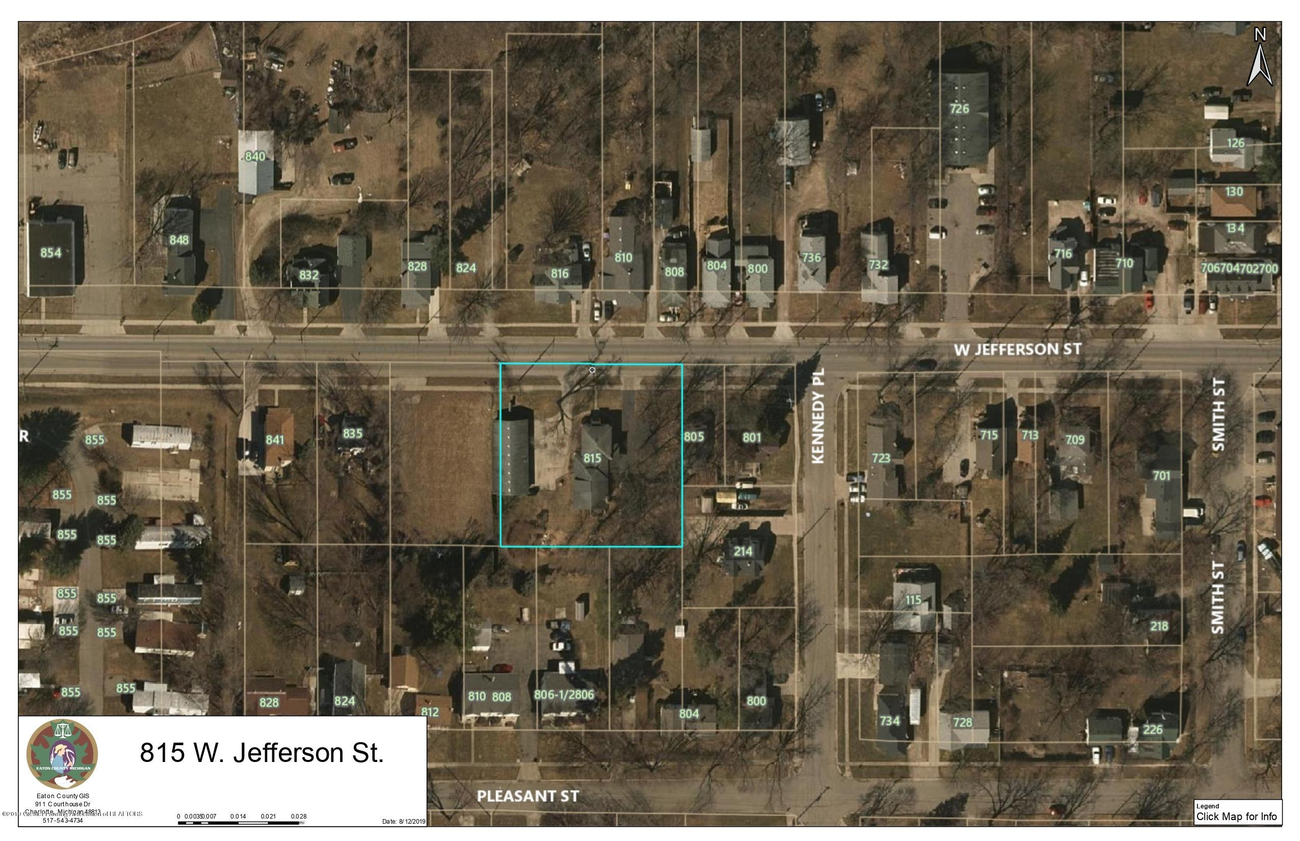 815 W Jefferson St - 815 W. Jefferson - Lot Lines - 37