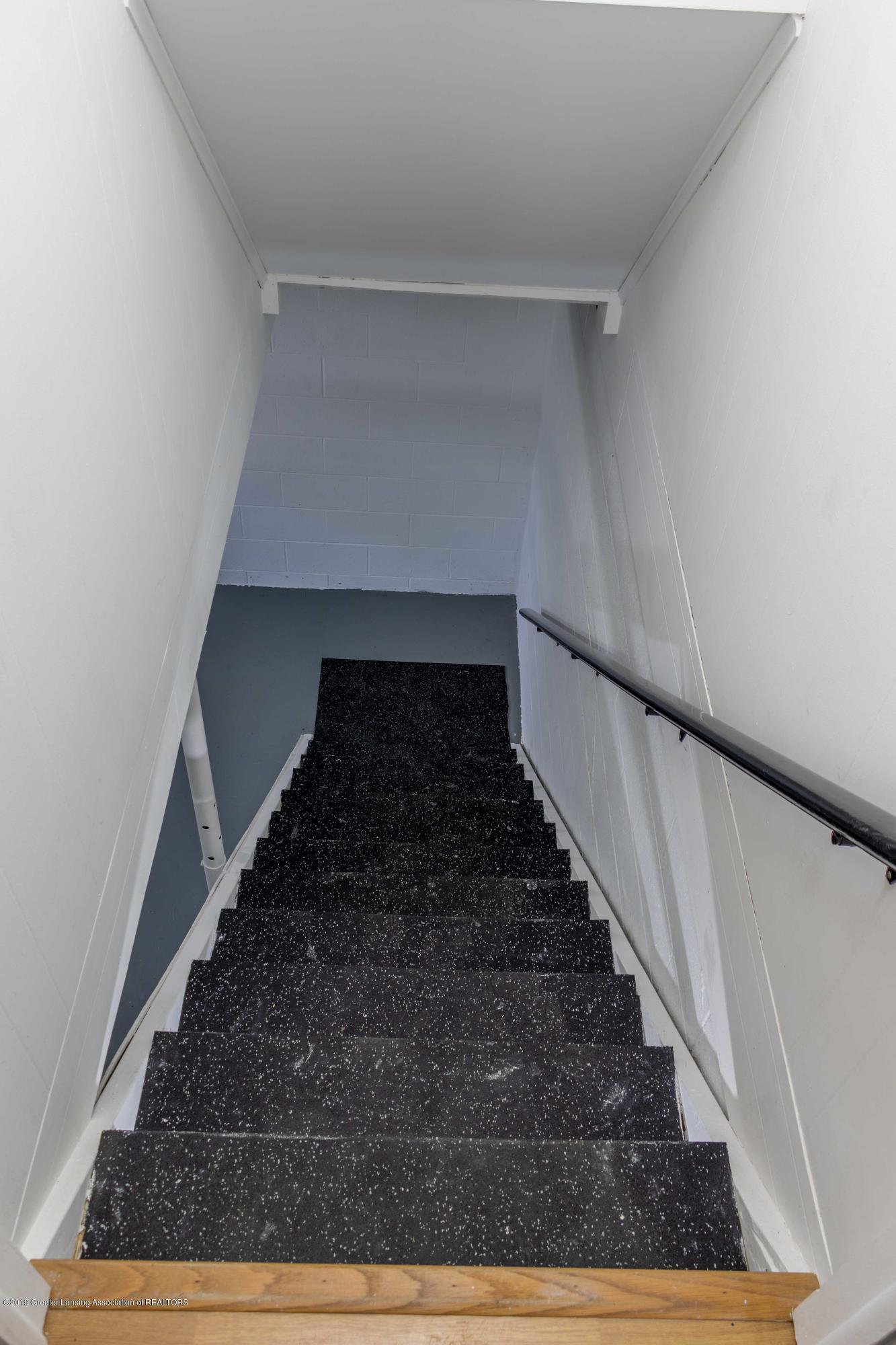 5655 E Pratt Rd - basement stairs - 35