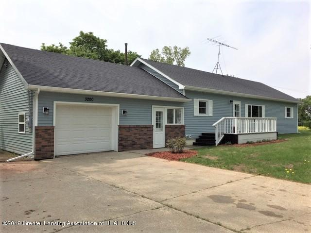 3200 S Dewitt Rd - View from drive to front - 4