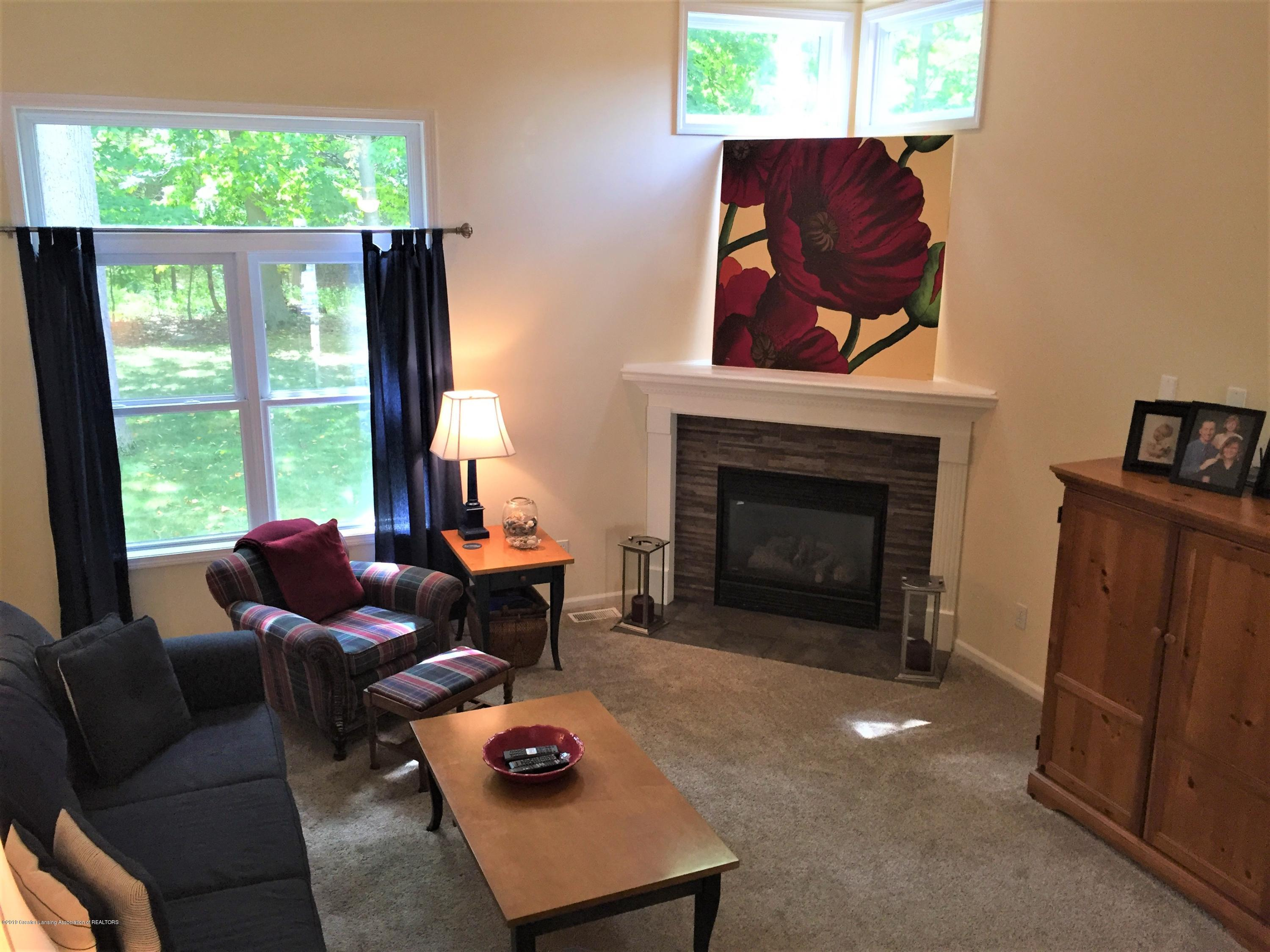 8617 Wheatdale Dr - Living Room View from Stairs - 20