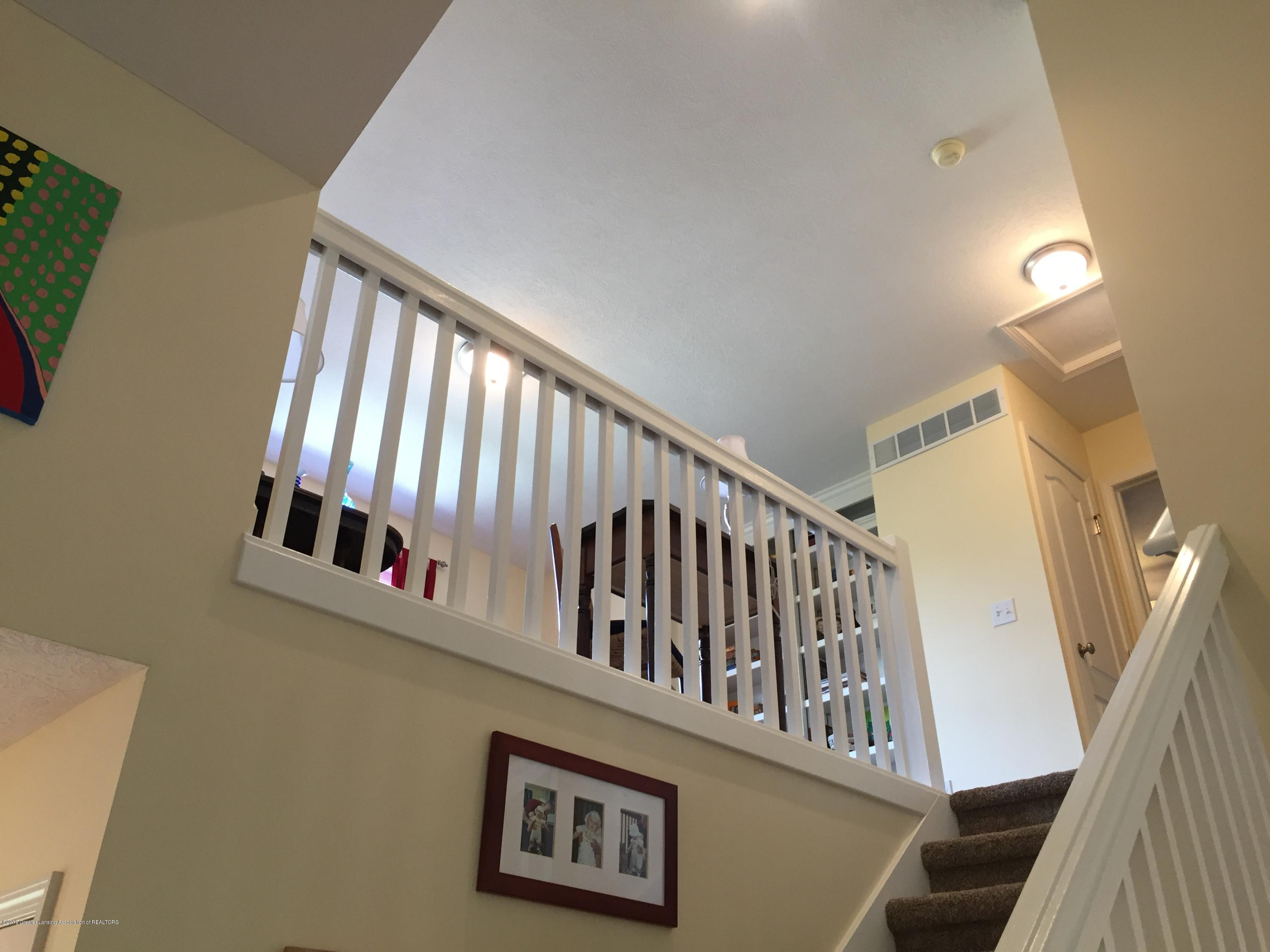 8617 Wheatdale Dr - View of Loft from Living Room - 32