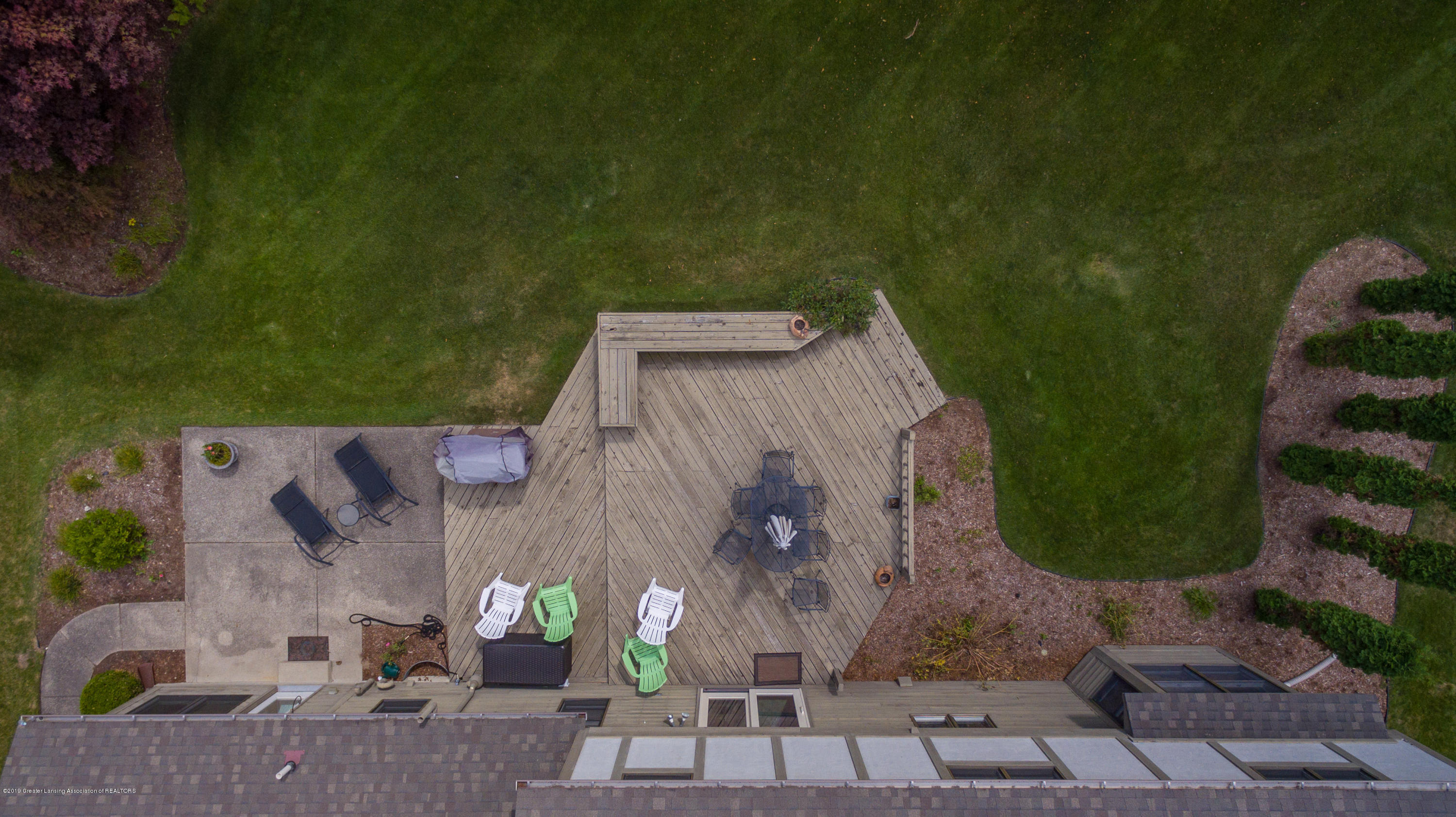 2133 Woodfield Rd - Aerial View Deck - 50