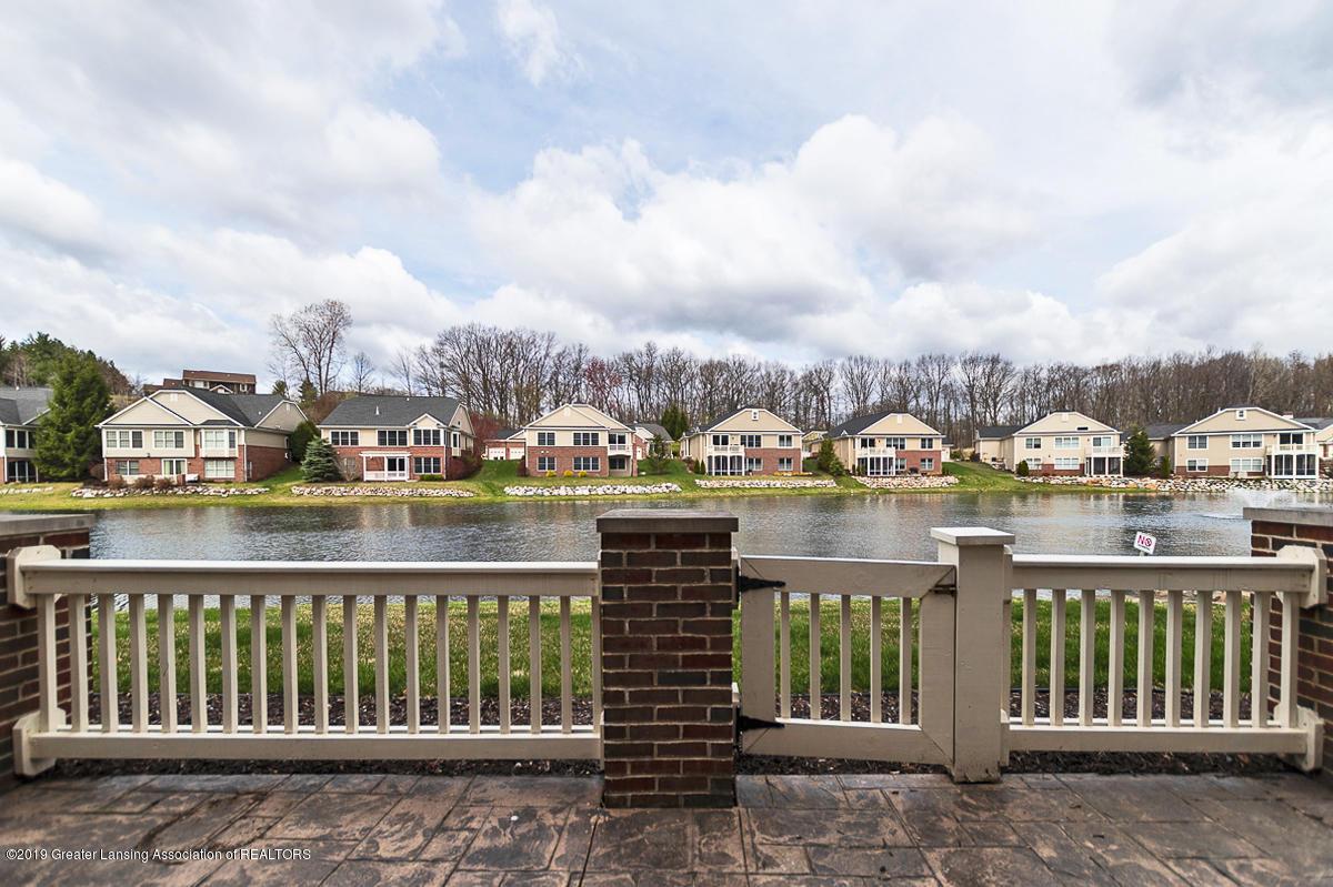 6149 Bridgewater Cir 49 - 6149 Bridgewater lower patio view - 29