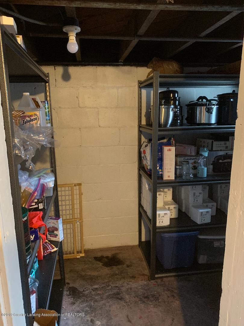 1526 Spencer St - 19  Basement Storage - 19