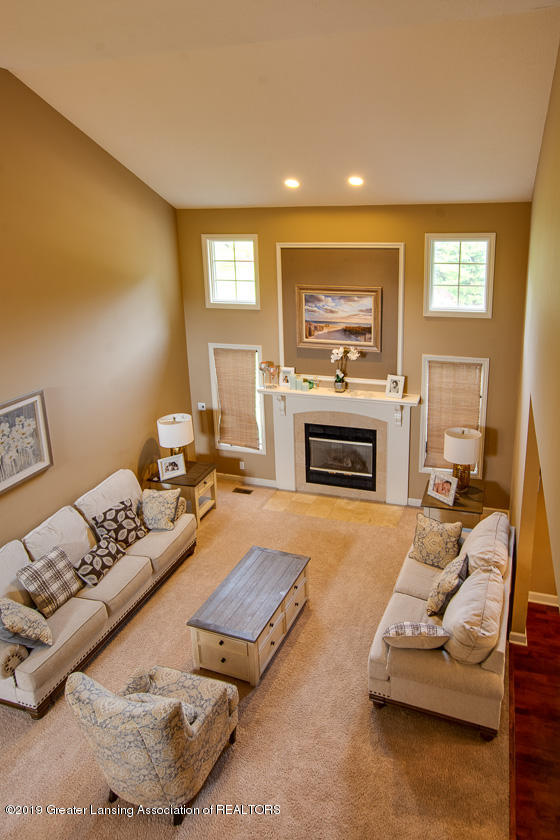 13295 Speckledwood Dr - Great room view from above - 6
