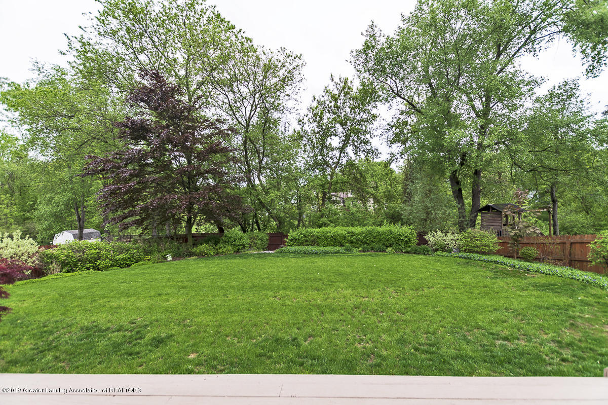 5778 Whisperwood Dr - 5778 Whisperwood back yard view from dec - 4