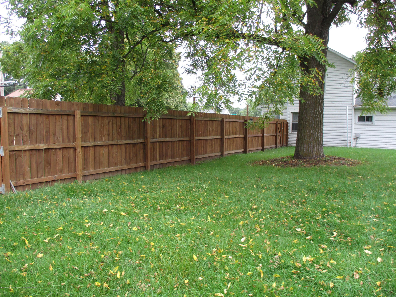 413 W Shepherd St - 14 Yard + Fencing - 14