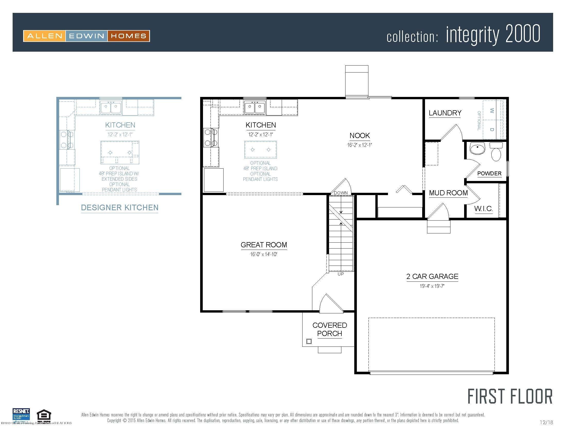 1116 River Oaks Dr - Integrity 2000 V8.0a First Floor - 2