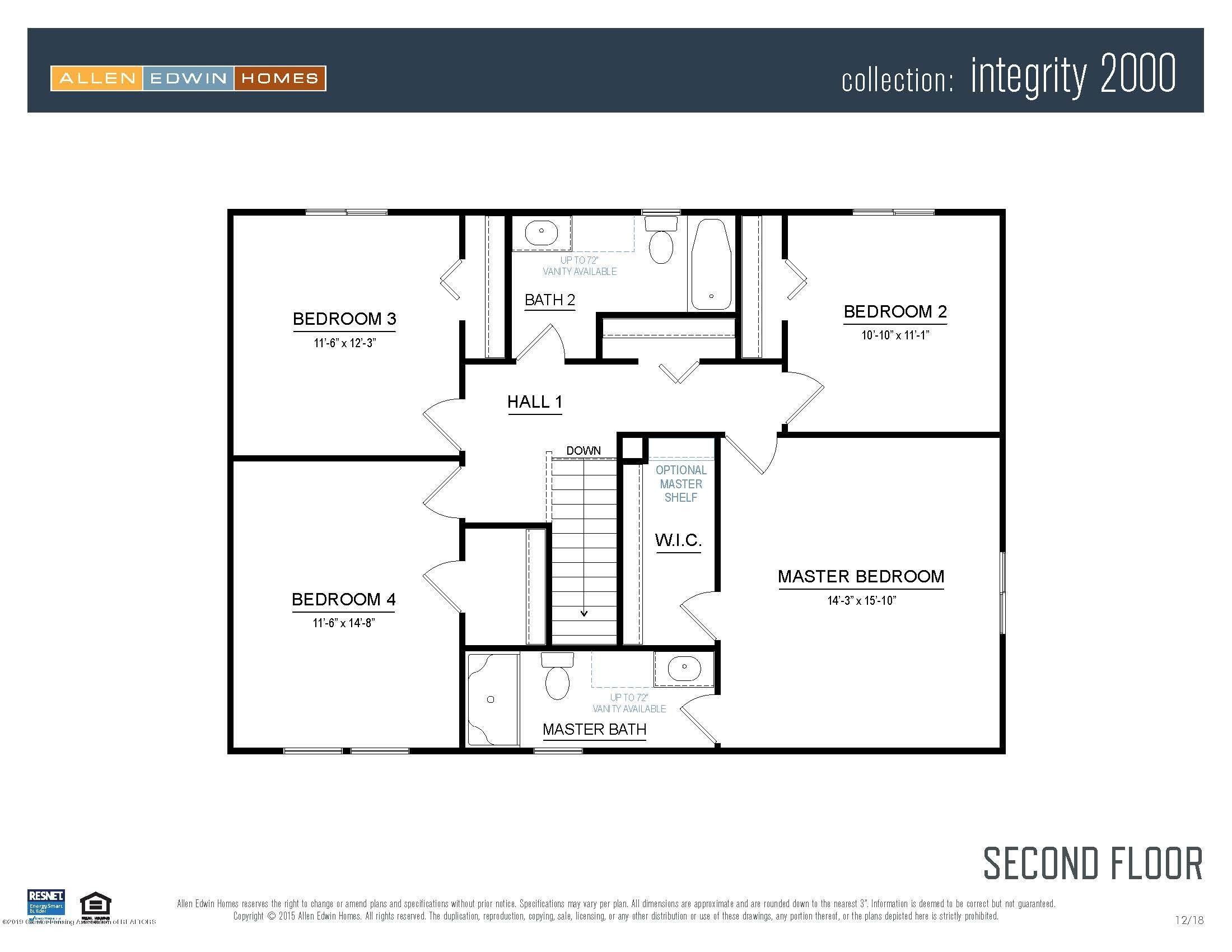 1116 River Oaks Dr - Integrity 2000 V8.0a Second Floor - 3