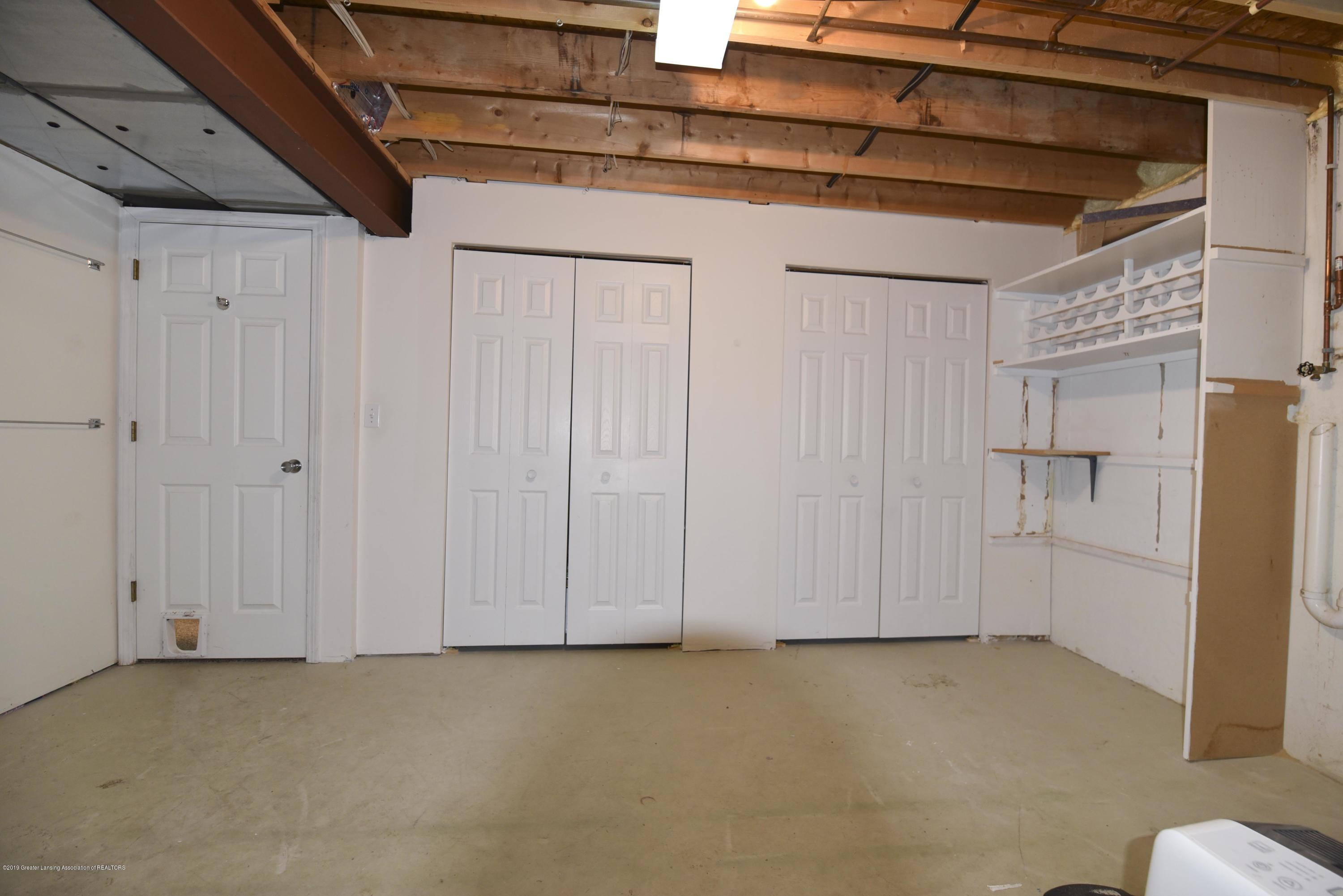 3300 Hollow Spring Dr - Lower level storage - 40