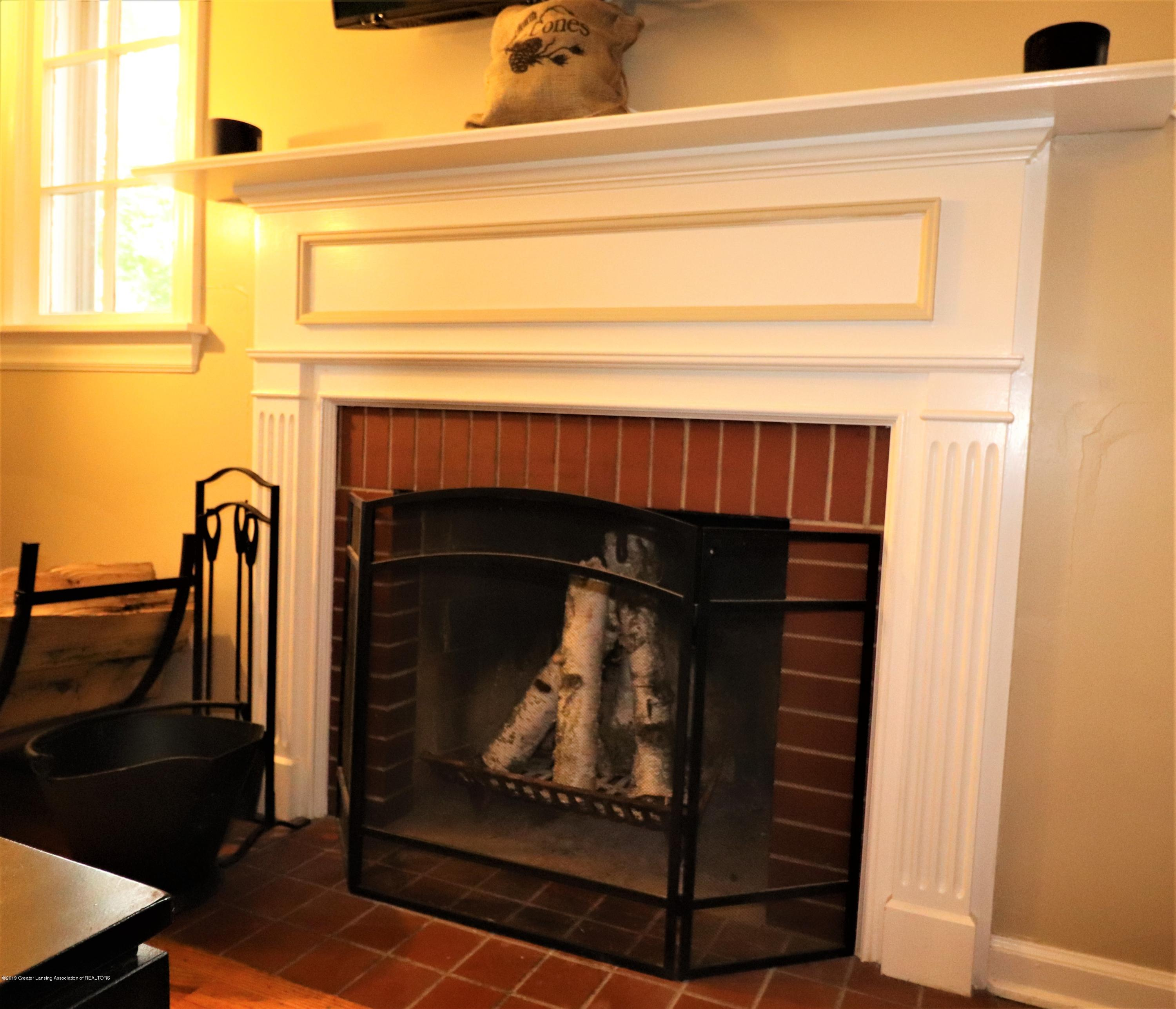 1201 Cleo St - 7 Wood burning Fireplace in LR - 7
