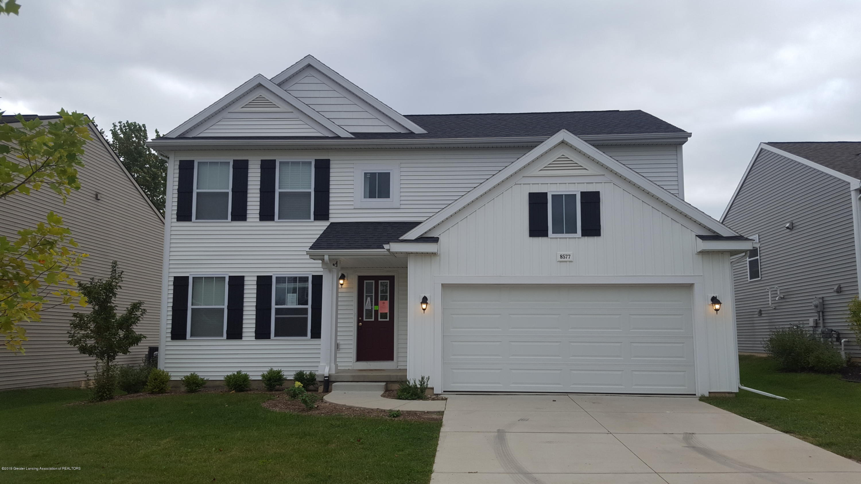 8577 Manistee River Dr - Front View - 1