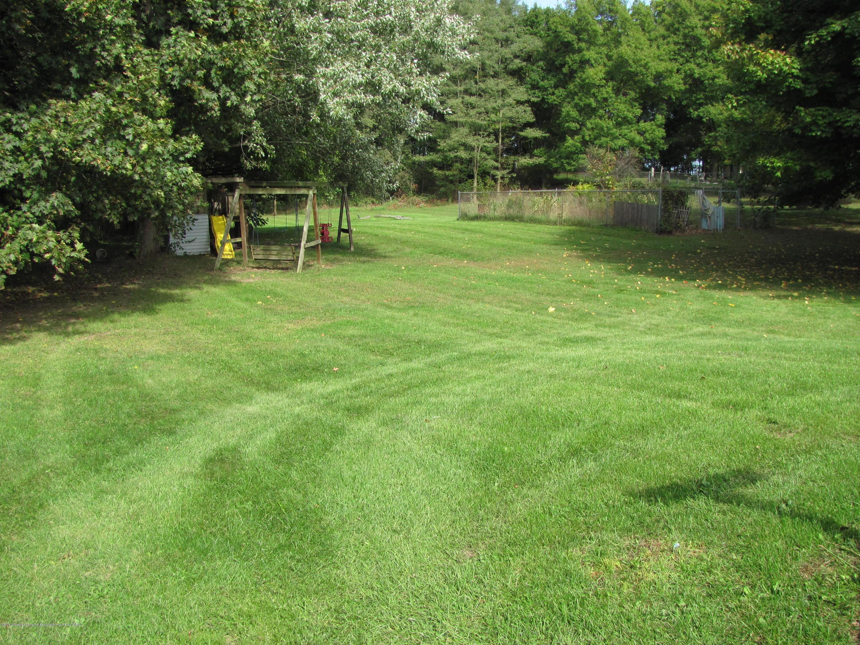 3643 E Vermontville Hwy - Back yard - 5