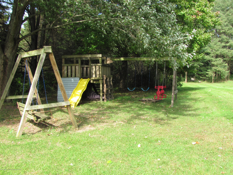 3643 E Vermontville Hwy - Back yard - 6
