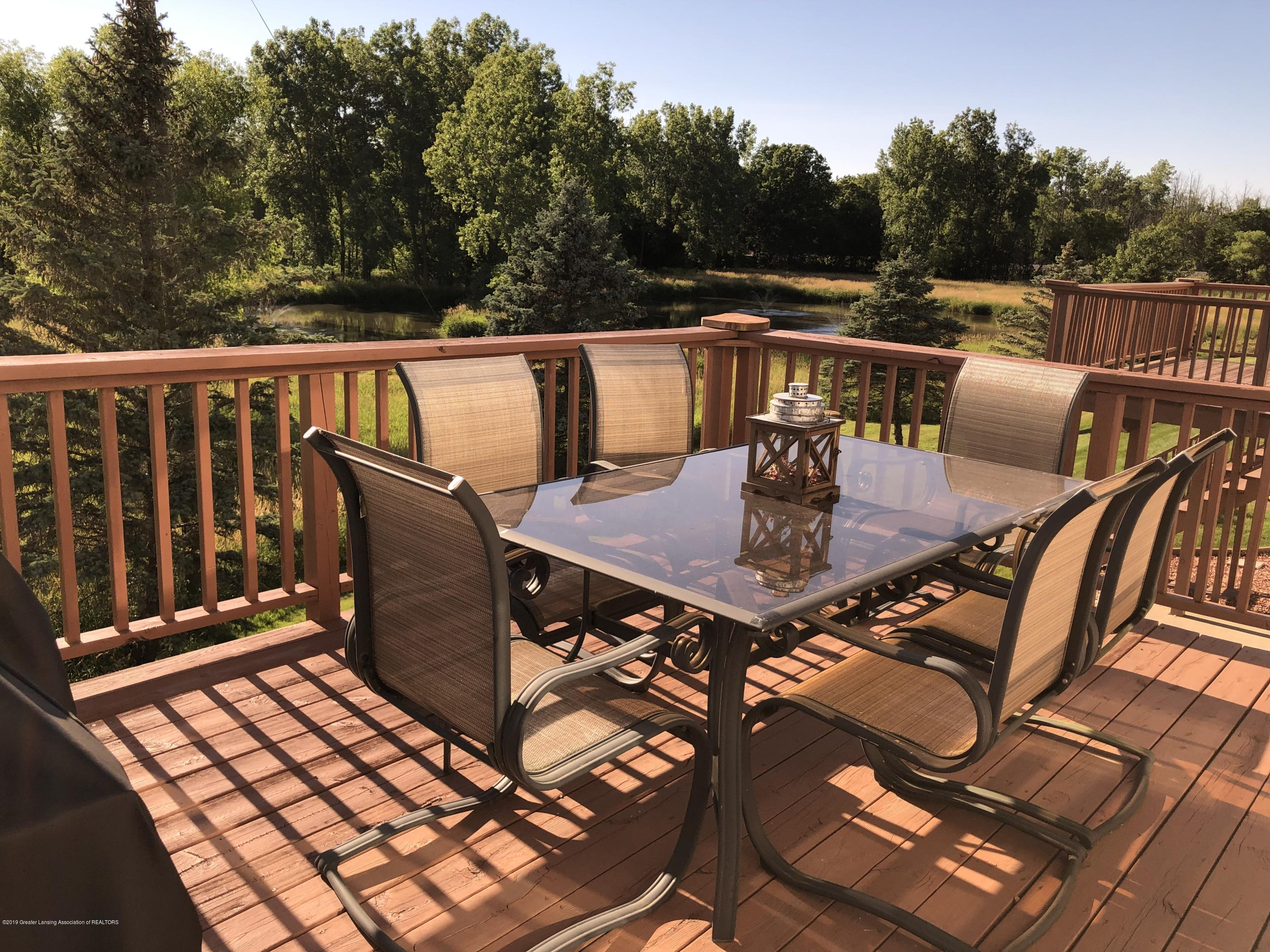 712 Pine Meadow Ln 6 - Deck view of pond - 21