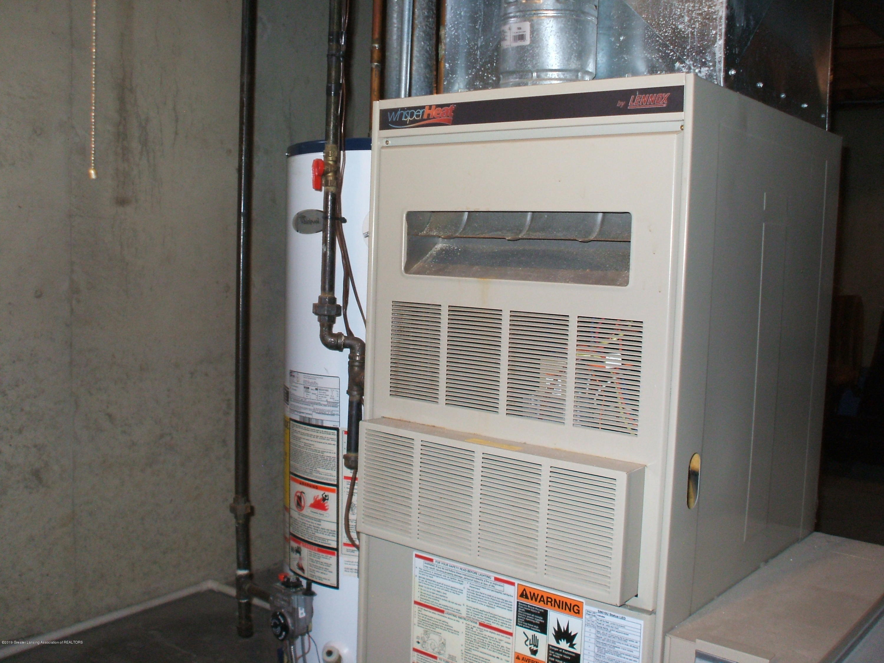 803 W McConnell St - Furnance/hot water heater - 27