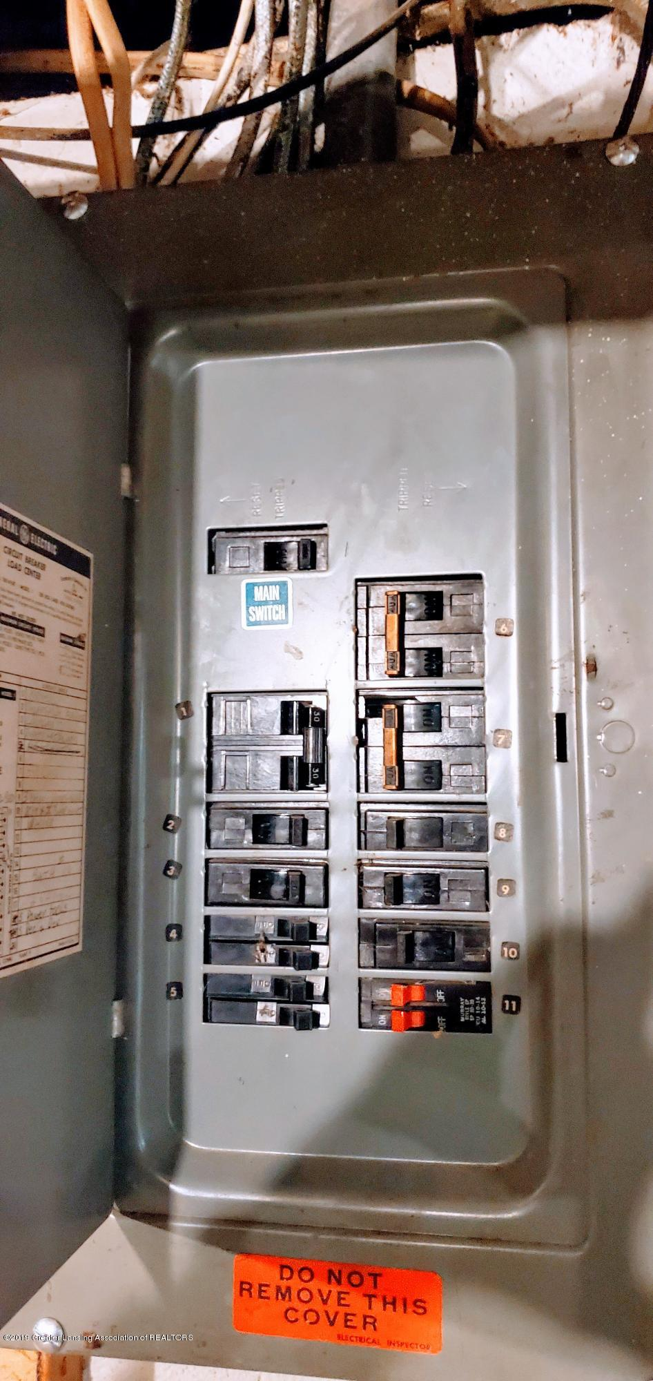 3924 Wedgewood Dr - Electric Panel - 17