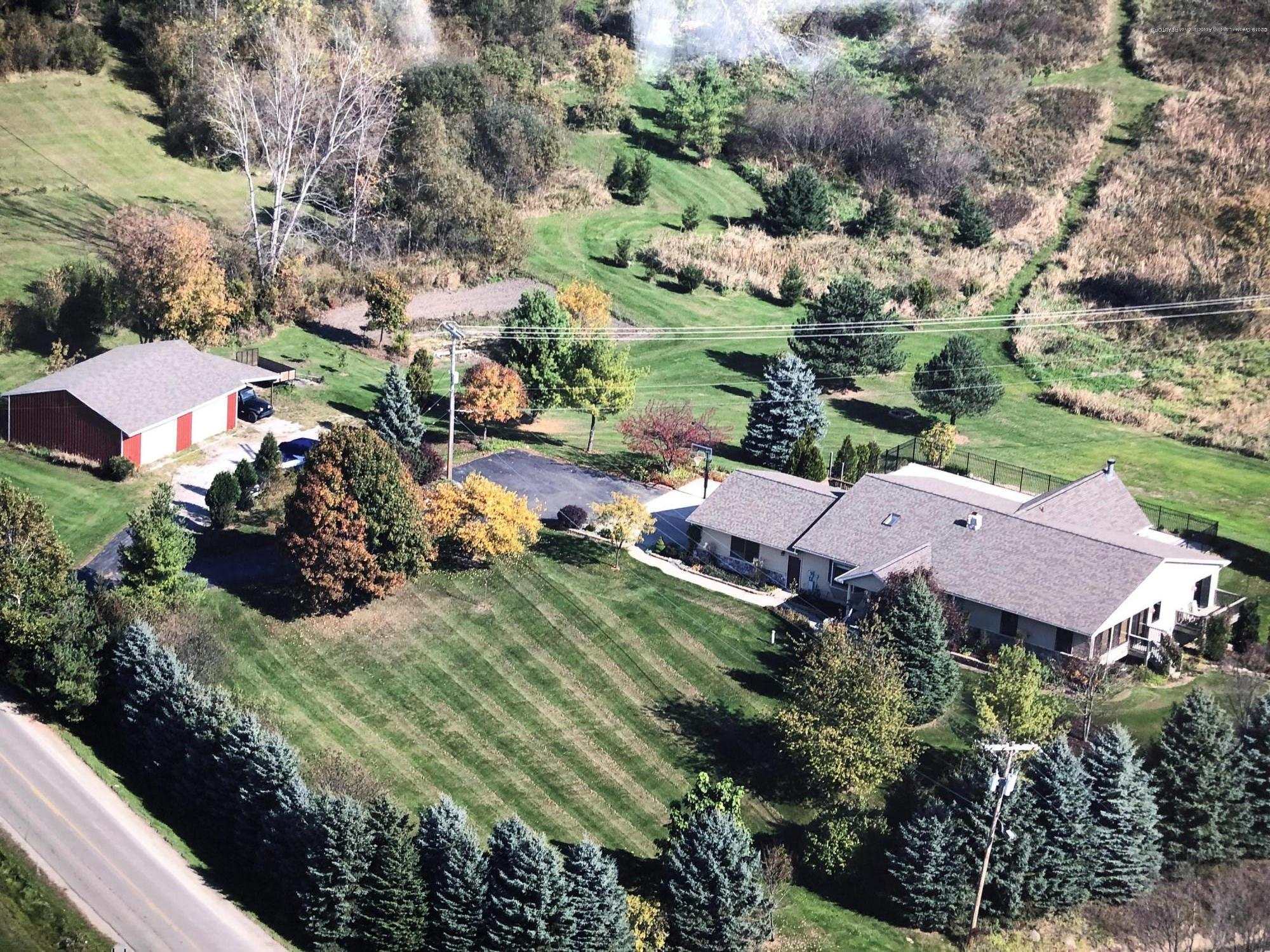 10959 Fenner Rd - Drone view of Home - 2