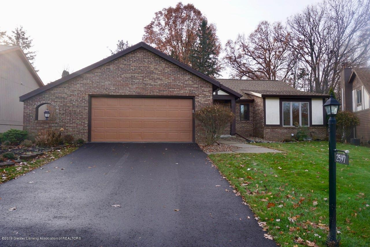 2597 Woodhill Dr - FRONT EXTERIOR - 1