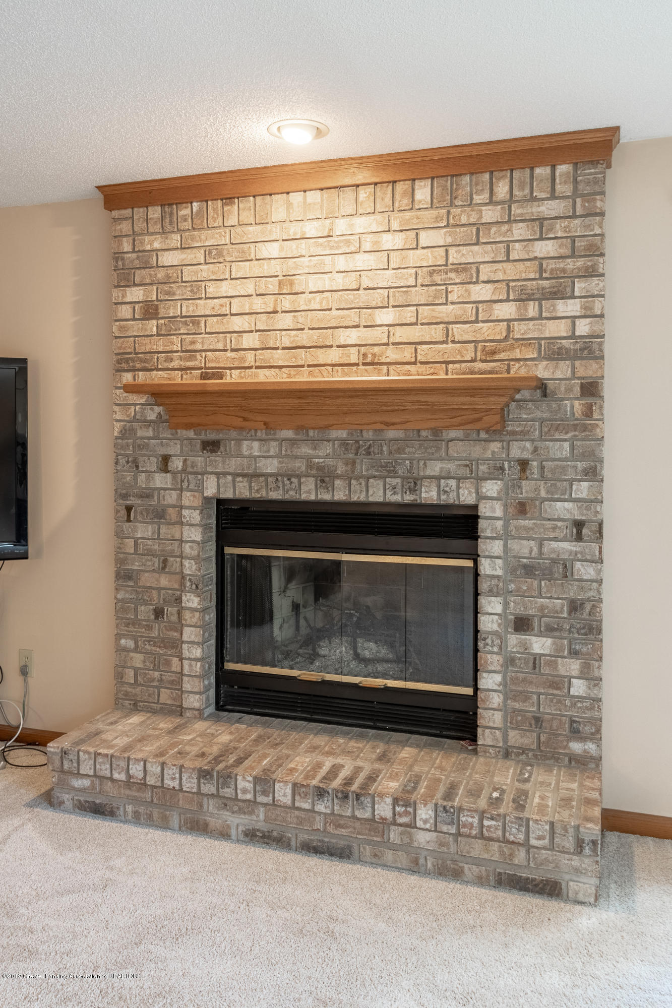 1967 Birch Bluff Dr - Fireplace in Family Room - 29