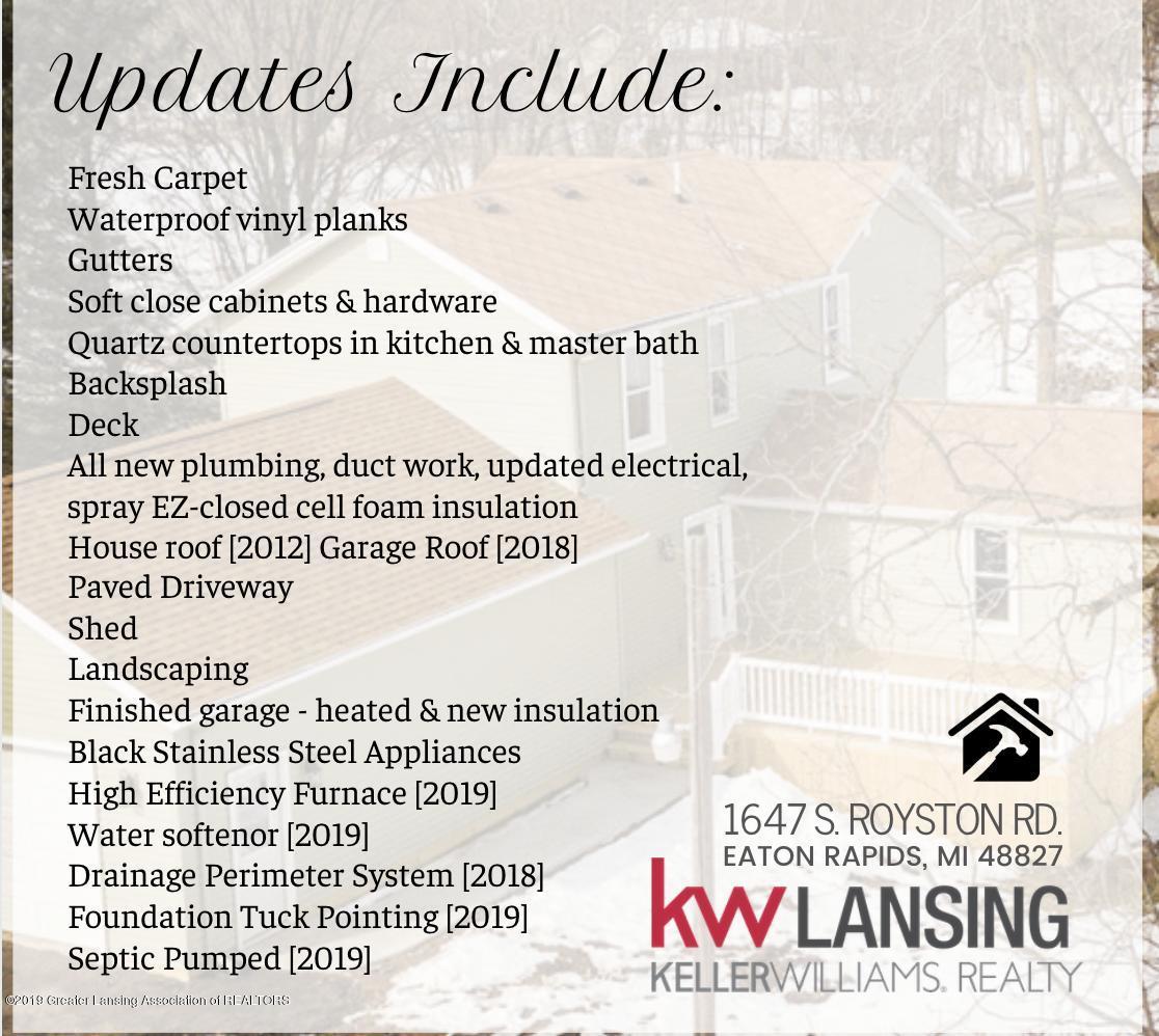 1647 S Royston Rd - Updates list - 49
