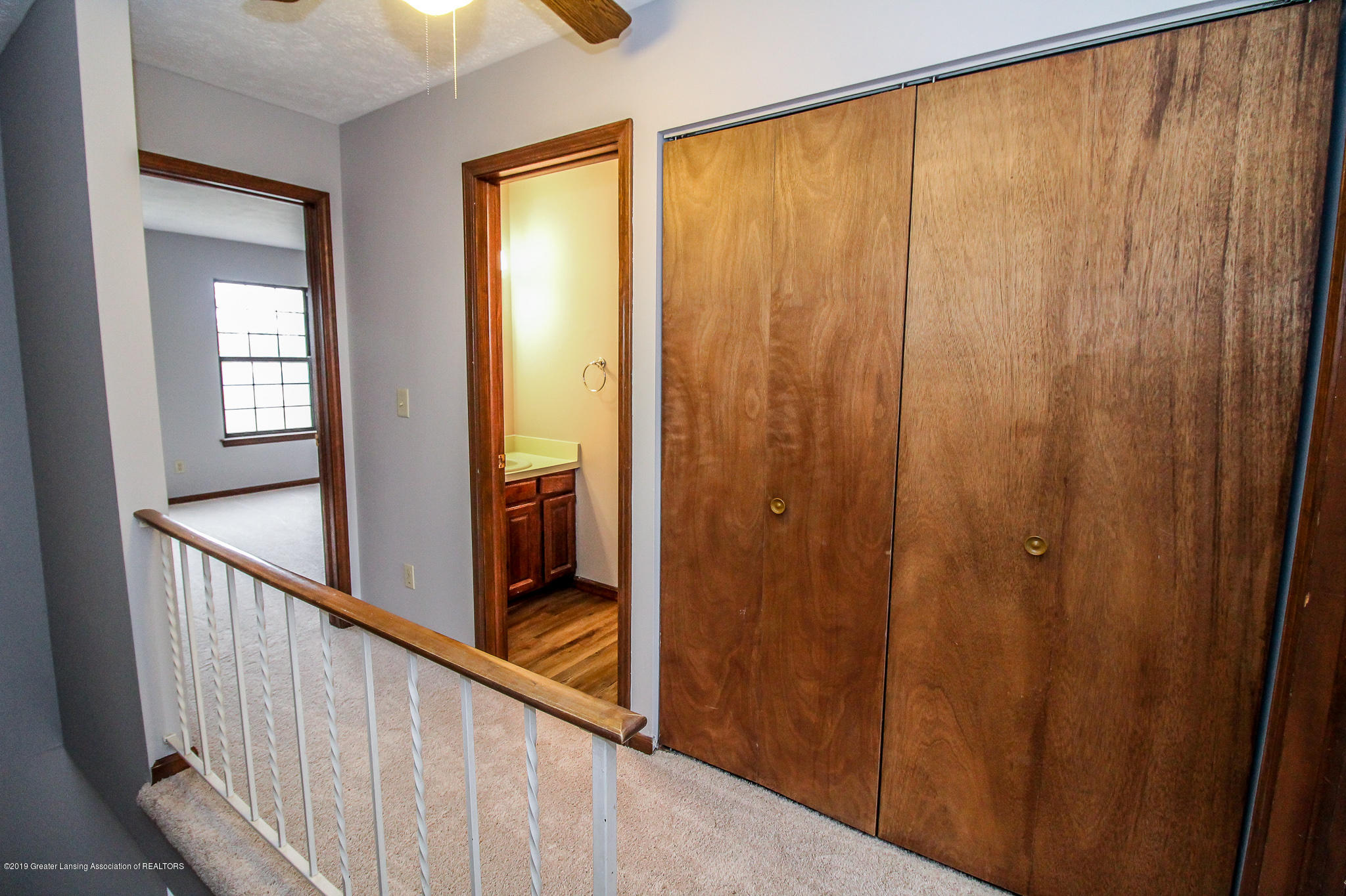 130 Park Meadows Dr - Hallway with 2nd Flr Laundry - 19