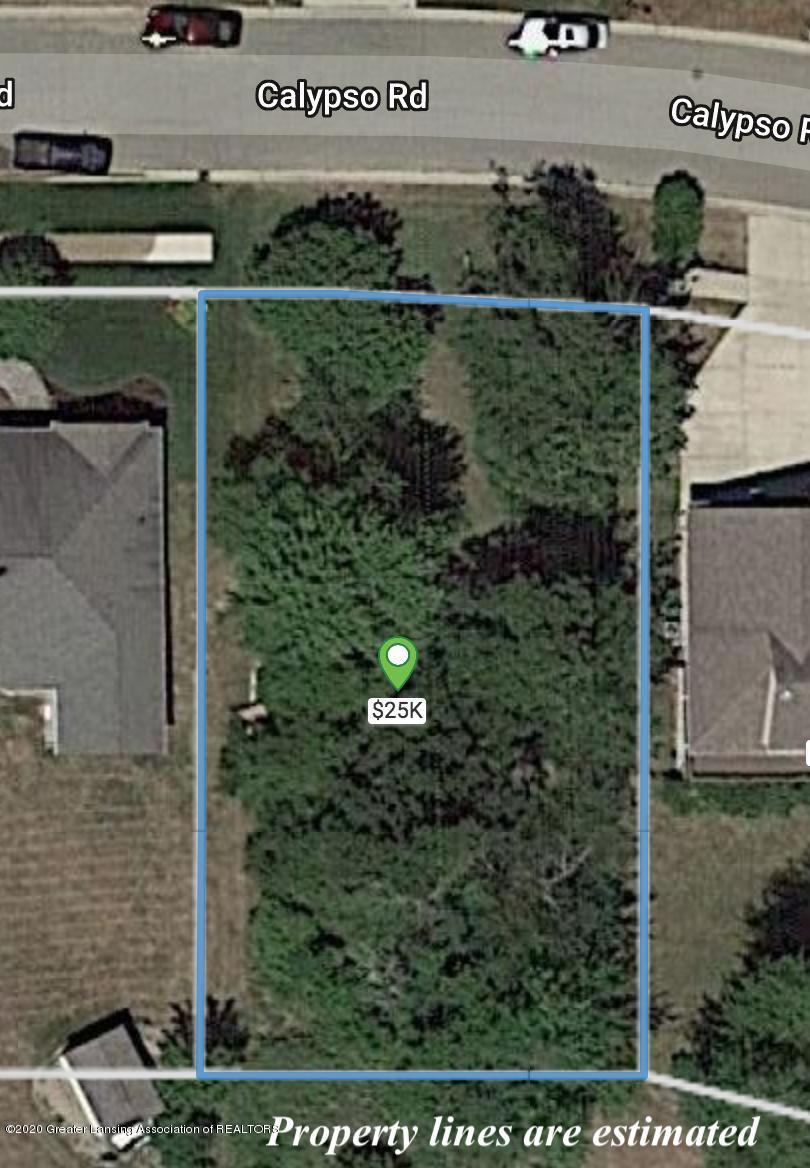 3793 Calypso Rd - Estimated Property Line - 1