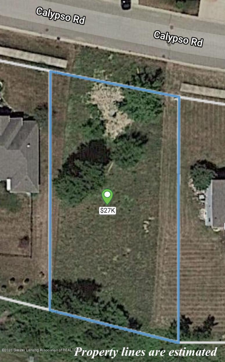 3769 Calypso Rd - Estimated Property Line - 1