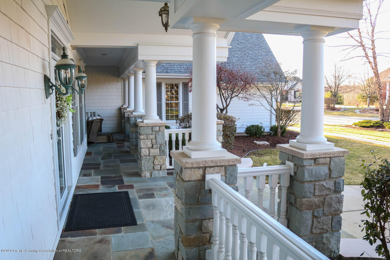 6090 Standish Ct - Front Porch - 6