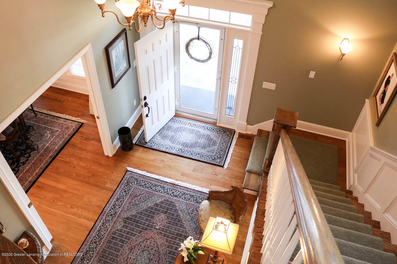 6090 Standish Ct - Entry view from 2nd floor - 50