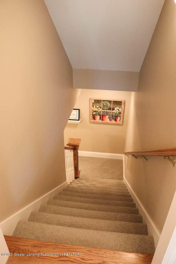 6090 Standish Ct - Stair to lower level - 68