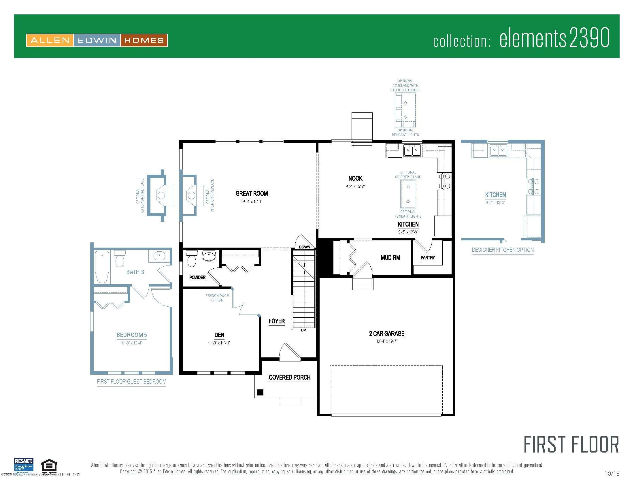 6463 Savanna Way - Elements 2390 V8.0a First Floor - 5
