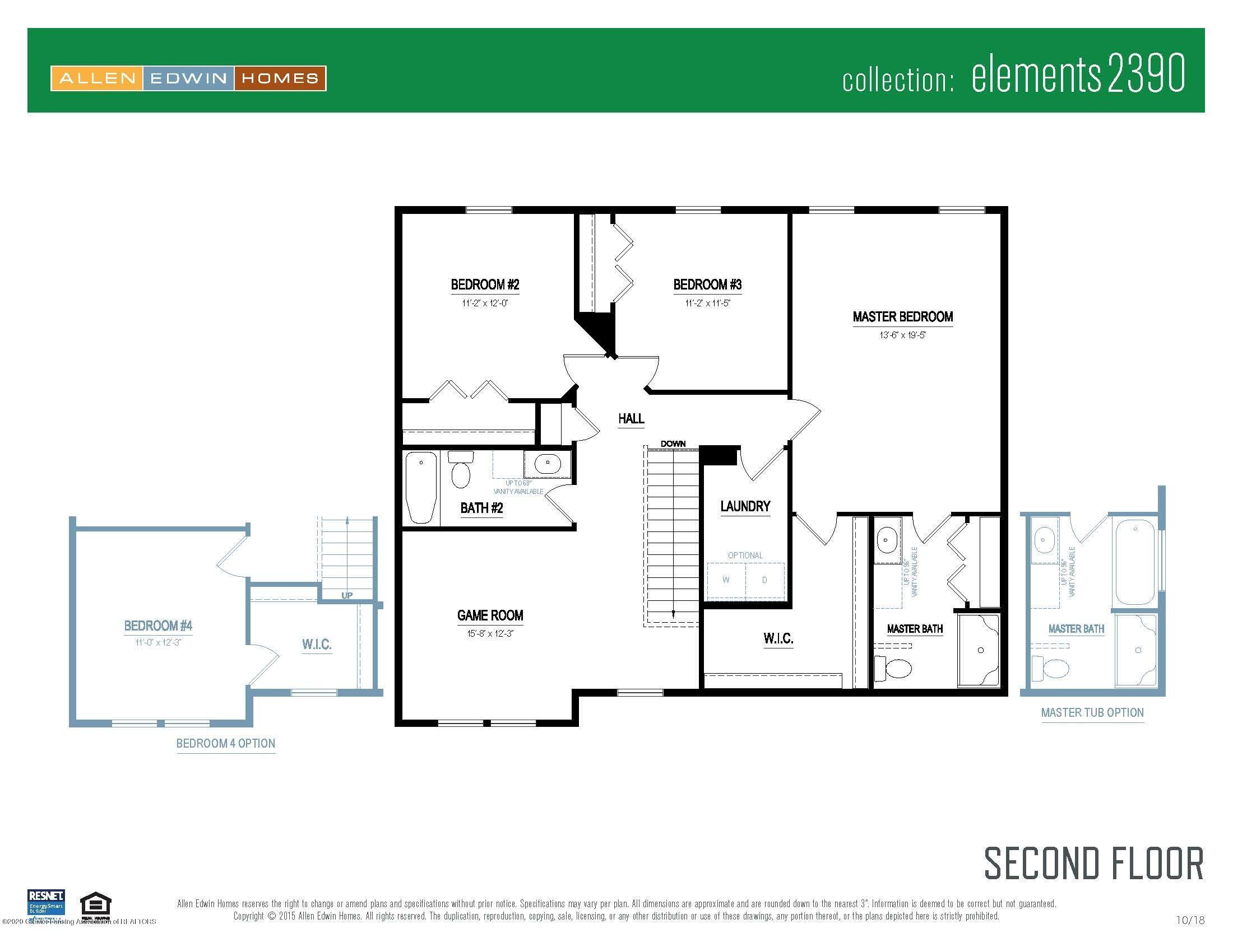 6463 Savanna Way - Elements 2390 V8.0a Second Floor - 6