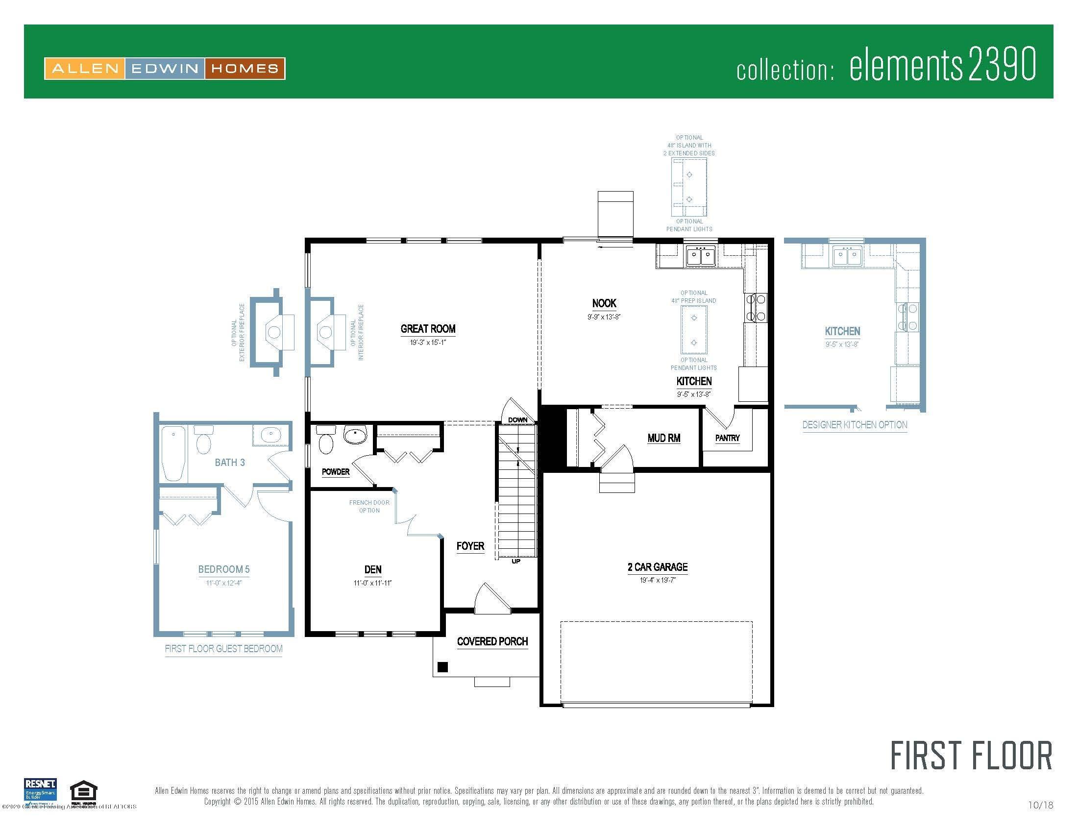 5344 Somerset Dr - Elements 2390 V8.0a First Floor - 20