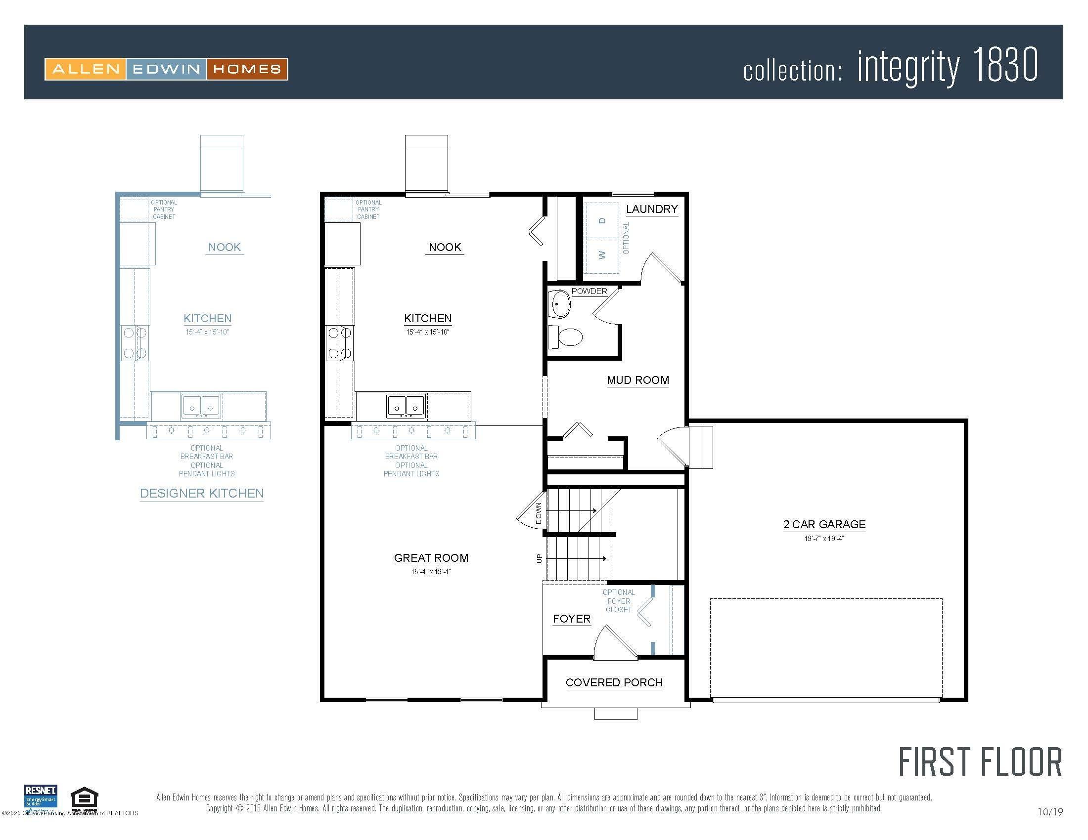 1114 River Oaks Dr - Integrity 1830 V8.1b First Floor - 17