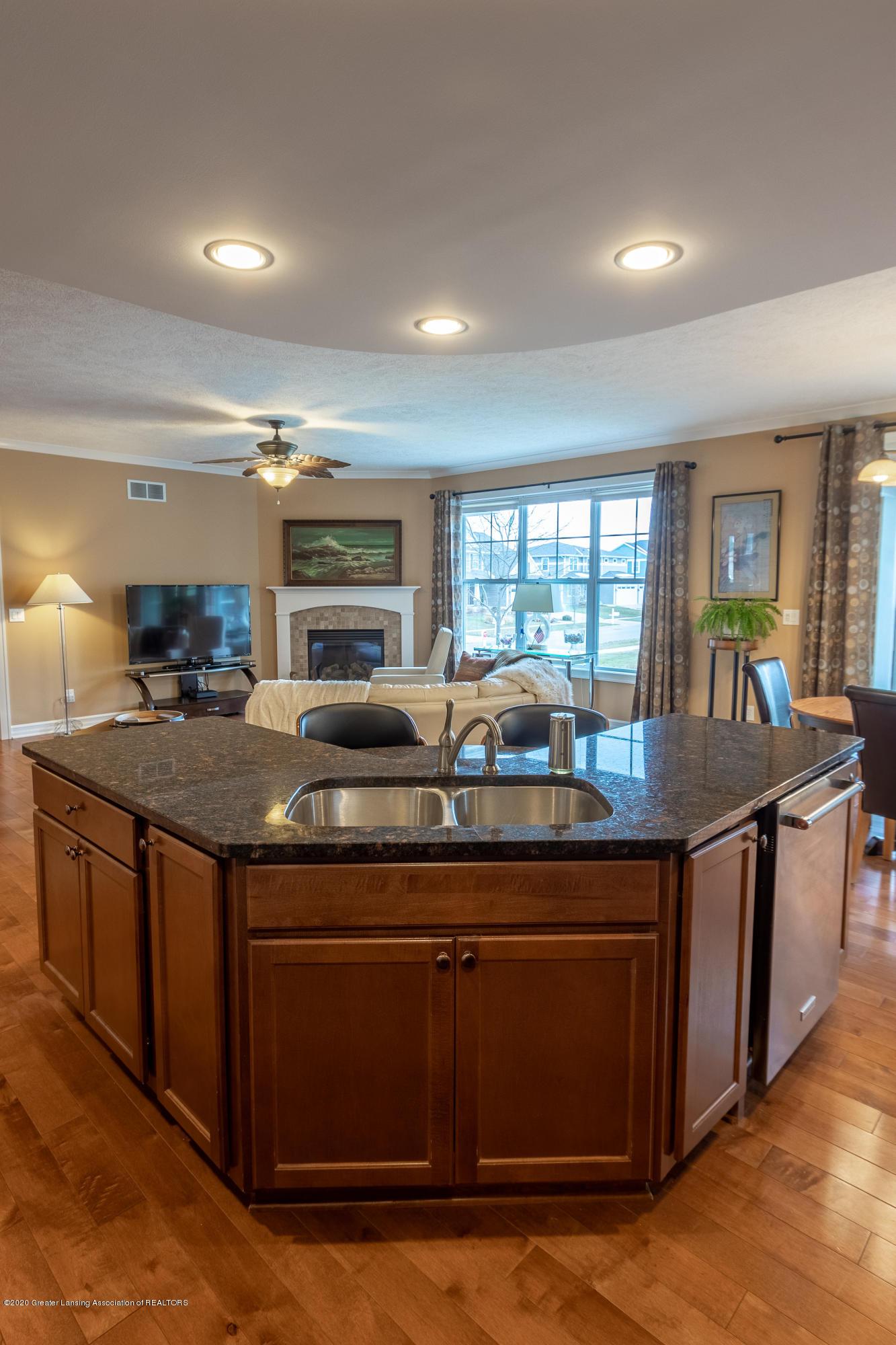 3852 Zaharas Ln - Kitchen into Living Room - 26