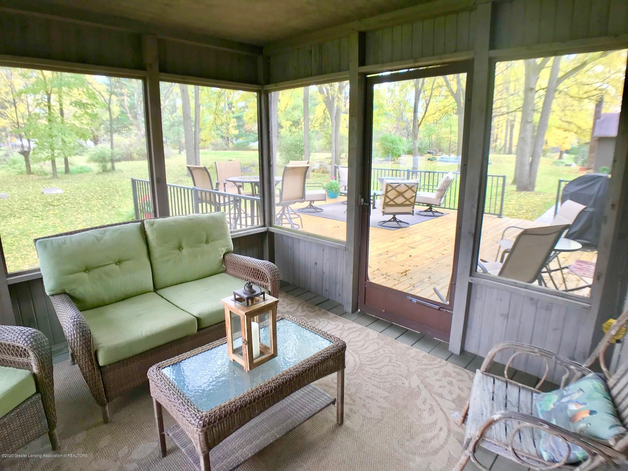 12822 Oneida Woods Trail - Screened Back Porch - 32