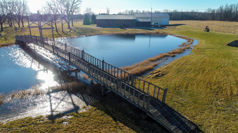 6111 S Morrice Rd - Pond with Mini Mackinac Bridge - 34