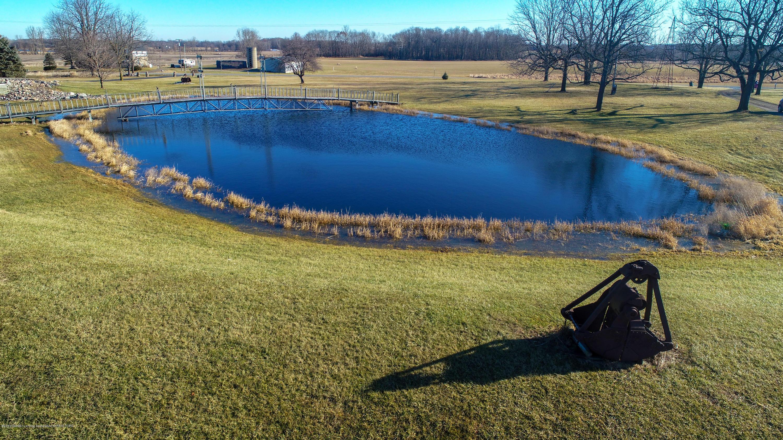 6111 S Morrice Rd - Pond with Mini Mackinac Bridge - 35