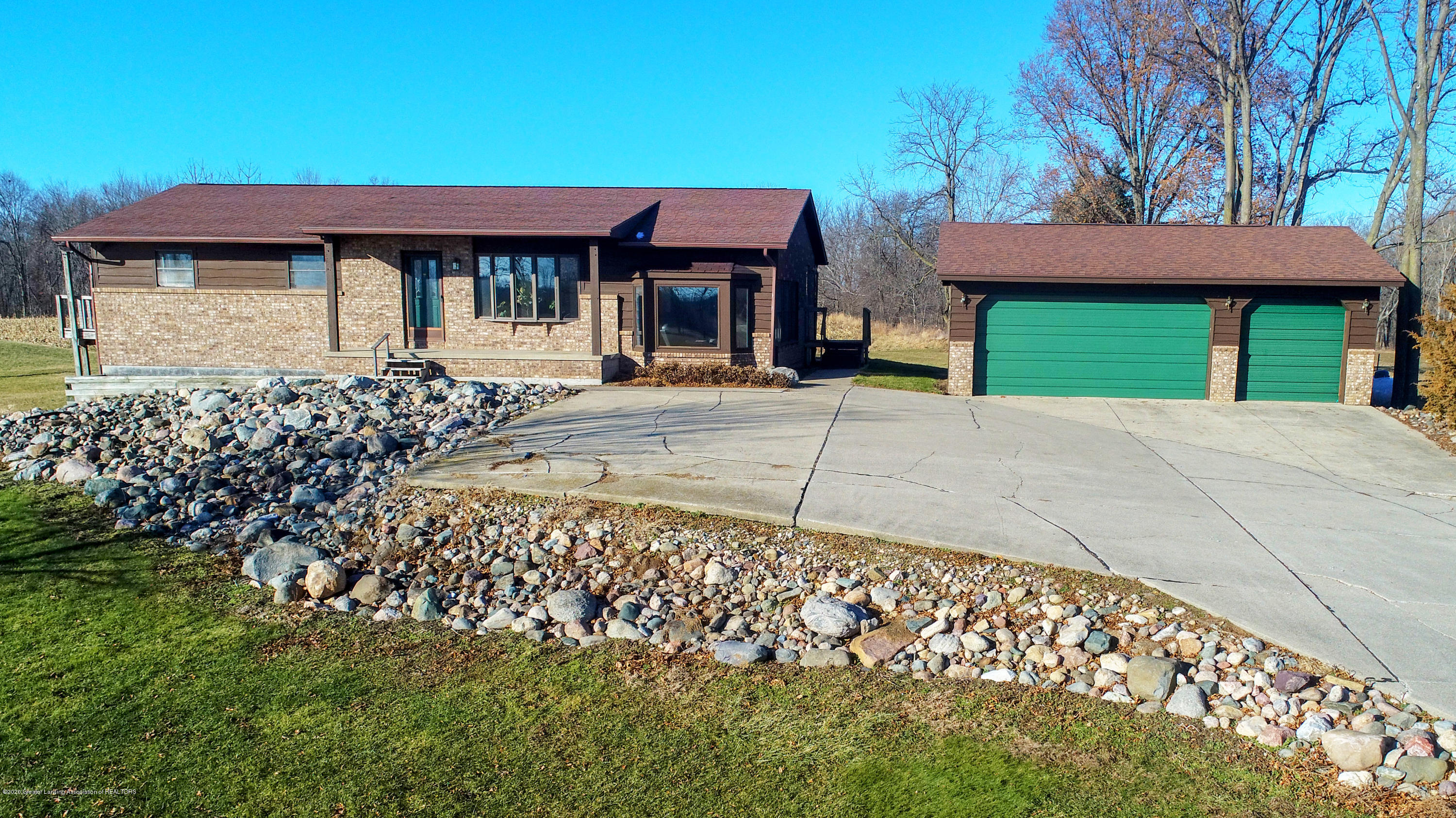 6111 S Morrice Rd - Front of Home - 1