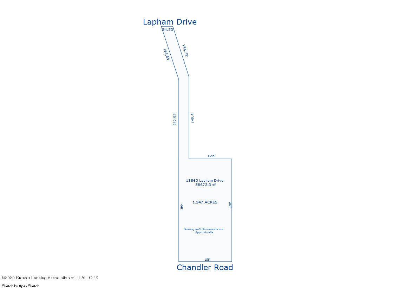 13860 Lapham Dr - Sketch of Lot - 26