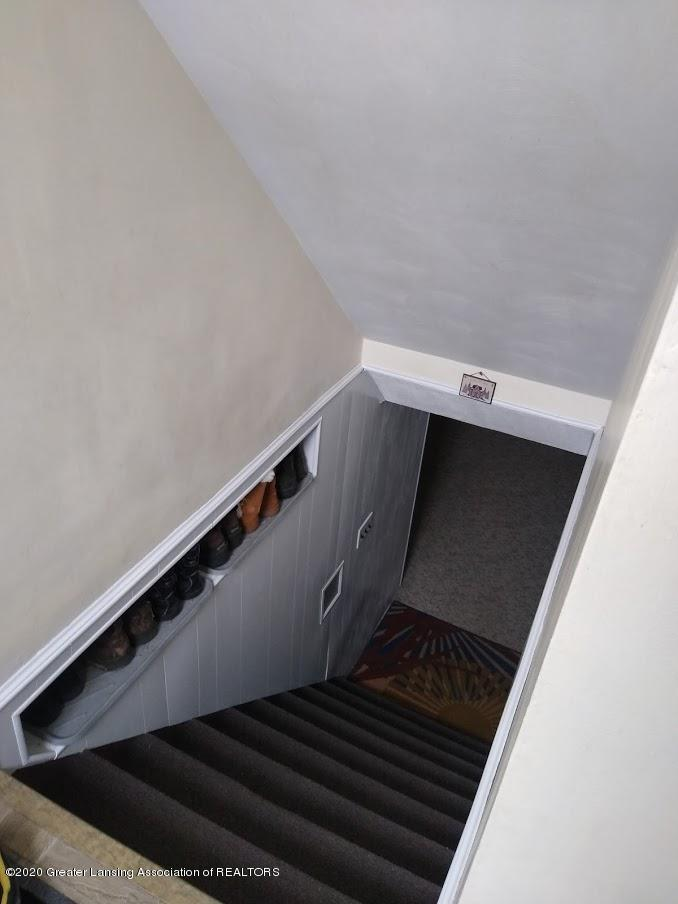 4184 Hancock Dr - basement stair with shoe storage - 24