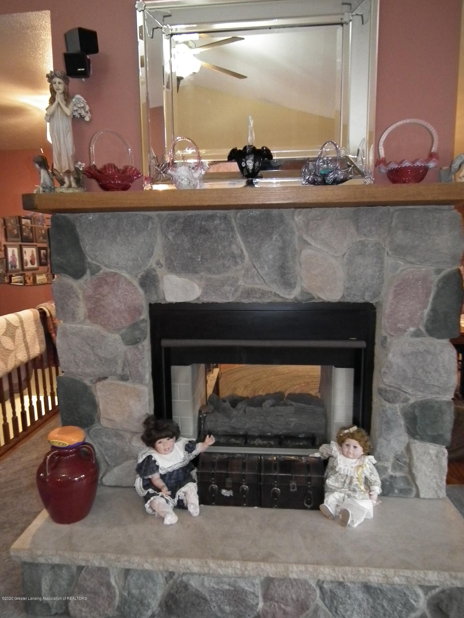 1727 S Waverly Rd - Two way fieldstone gas fireplace - 6
