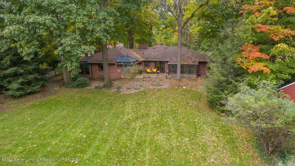 4718 Woodcraft Rd - Aerial of back yard - 56