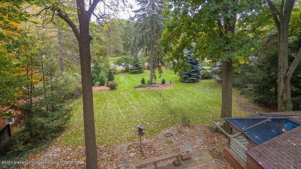 4718 Woodcraft Rd - Aerial back yard - 57