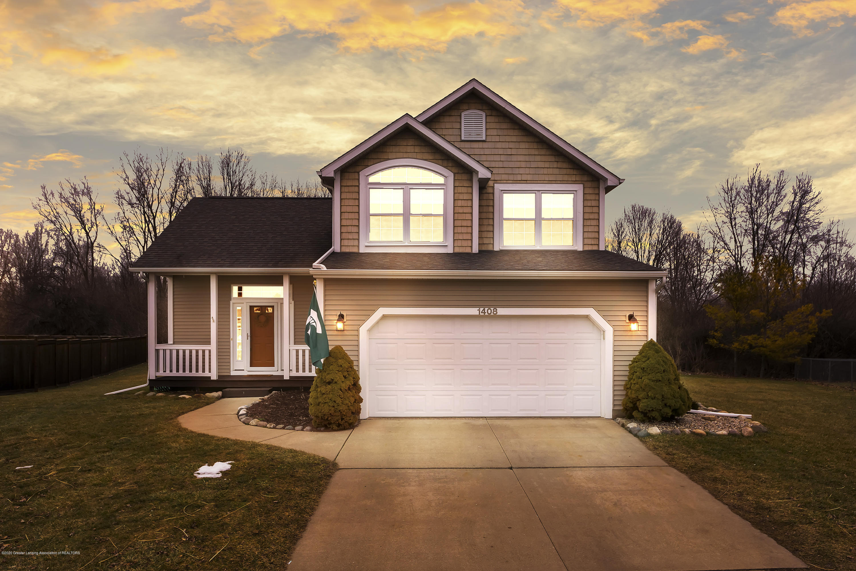 1408 Yarrow Dr - Front - 1