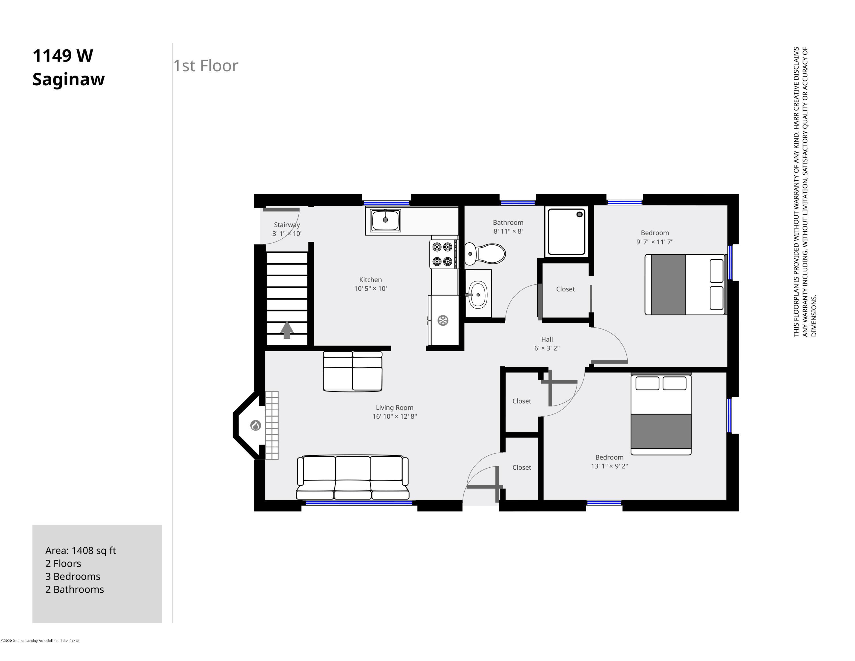 1149 W Saginaw St - 1149 W Saginaw 1st Floor - 14