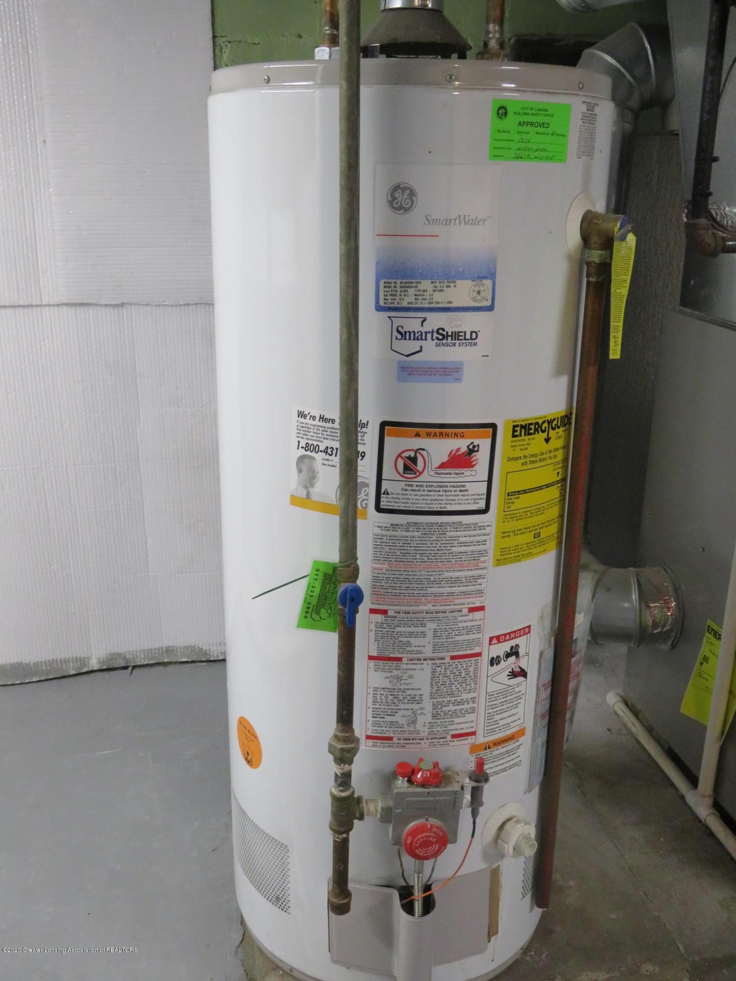 1216 Eureka St - Hot Water Heater - 23