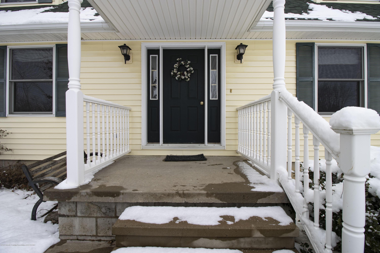 7459 Rossman Hwy - front door - 2